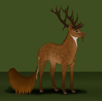 Salix | Stag | Royal Guard by fulociraptor