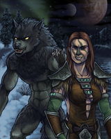 Skyrim: Shield Sister by lycanthropeful