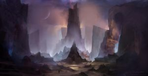 Desolate Heights by pankratiev