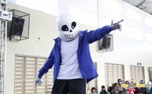 Sans cosplay II by deads-on