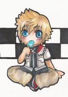 Chibi Commission Roxas by Miina-san