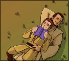 Obi-Wan in Love by thehaydenclone
