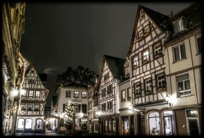 Looking up in a German village by 3-Rebis-3