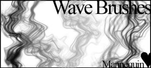 Wave Brushes by MannequinStock
