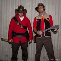 Team Fortress Cosplayers by fotaku