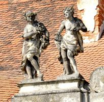 Statues of Lednice by MoonBeam3100