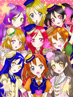 LoveLive all meeting!!! by Serekitty