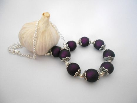 For Sale: Indian Twlight Necklace by Wirejeweller