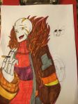 GZSwap Papyrus drawing by panadareaper