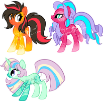 Lace Pony adoptables3 by Sakuyamon