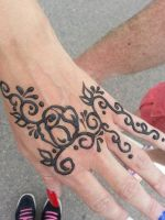henna work by Icandrawmyownworld
