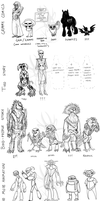 All these totally maybe awesome chars by JarODragon