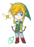 Link Chibi by GuardianYashu