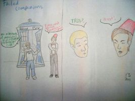 Failed Companions by ThirteenthDoctor