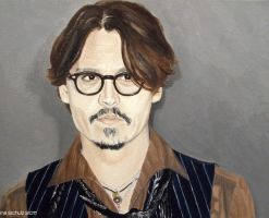 Johnny Depp - Paris 2011 by shaman-art
