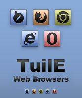 TuilE Icons - Web Browsers by Lukeedee