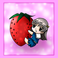 Strawberry Tohru by ShavingSheep
