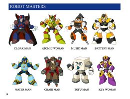 8 Robot Masters by Puukster
