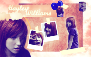 Hayley Williams Wallpaper by Ryanx2