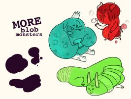 More Blob Monsters by reed682