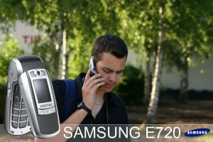 Samsung E720 commercial by evenstarr