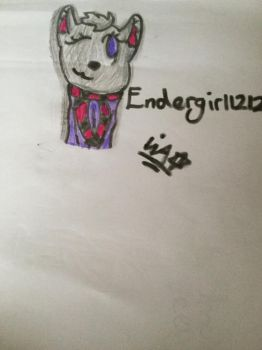 A gift for Endergirl1212cookie! by TheOfficialNature