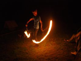 Fire Show 06 by K1ku-Stock
