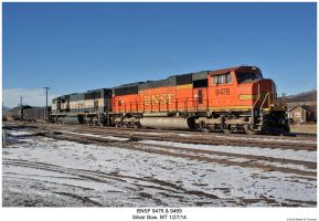 BNSF 9476 + 9469 by hunter1828