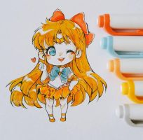 Sailor Venus by LaDollBlanche