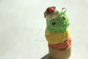 [Free! Iwatobi Swim Club inspired] Icecream charm~ by Jasmine-rin