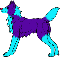 Sparkly Coyote Adopt - Offer [Open] by Feralx1
