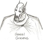 General Grievous Sketch by Demonic-Chaos