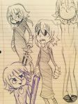 Crona doodles 2 by ViLu67