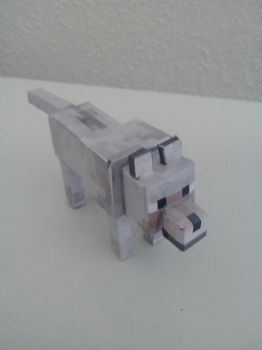 Loup minecraft by astre90