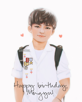 Happy Mingyu Day! by ririss