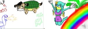 Turtle Day: iScribble by Firestar24