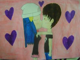 Blaine and Dawn 2 colored by RarityLuver214