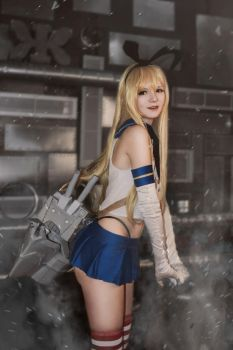 Kantai Collection - Shimakaze by Holly-Blu