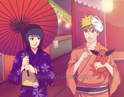 Naru x Shizune: Kurama is not this cute by JuPMod