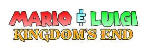 Mario & Luigi - Kingdom's End Logo by KingAsylus91