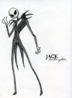 Jack Skellington by kalizin