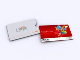 Gift Card Pocket Cover by 11thagency