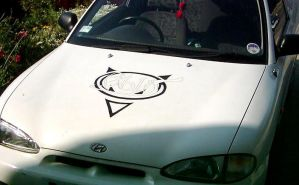 Deface the car by gopherboy76