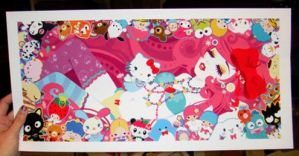 Sanrio print ON SALE NOW by Blush-Art