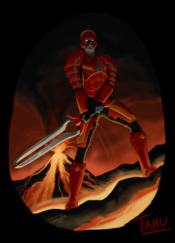 Bionicle G3: Tahu by joshuad17
