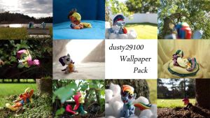 Pony Photos Wallpaper pack by dustysculptures