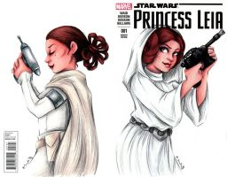 Princess Leia Cover by msciuto