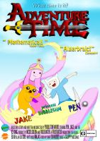 ADVENTURE TIME poster by artemisrox
