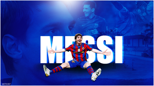 Messi Wallpaper by meteorblade