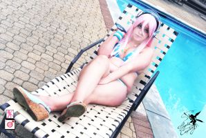 Sonico At The Pool 1 by Feywilde
